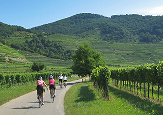 Backroads Czech Republic and Austria biking singles trip